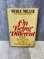On being different;: What it means to be a homosexual, 1st Edition, 1st Printing