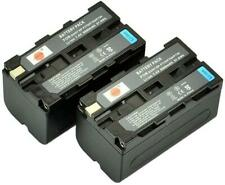 DSTE® 2x NP-F750 Rechargeable Li-ion Battery for Sony CCD-SC5 CCD-TRV80PK DCR-TR