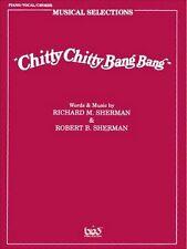 Chitty Chitty Bang Bang Vocal Selection PVG