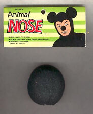 Black Foam Animal Nose Mouse Dog Reindeer Dress Up Halloween Costume Accessory