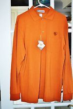 Men's  Casual Rust Color L/S Shirt By Extreme Size L  NWT