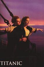 MOVIE POSTER~Titanic Leonardo DiCaprio Kate Winslet Flying Through Air Flight~