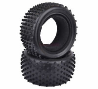 2PCS 85*42mm RC 1:10 Off-Road Buggy Car Rear Foam Rubber Tyres Tires 06025 7009R