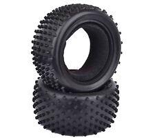 2PCS 85*42mm RC 1:10 Off-Road Buggy Car Rear Foam Rubber Tyres Tires 06025 7009R