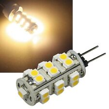 5x SMD Stiftsockel-Lampe G4 25 LEDs WARM-WEIß 72lm 1,5W, 360° LED