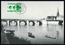 NETHERLANDS MK 1968 BRIDGES BRIDGE BRÜCKEN BRÜCKE CARTE MAXIMUM CARD MC CM be95
