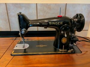 Vintage Singer 201 Centennial Sewing Machine Clean Tested Works Great!