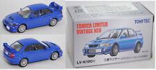 TOMICA LIMITED / TOMYTEC LV-N190a Mitsubishi Lancer GSR Evo VI lance blue, 1:64