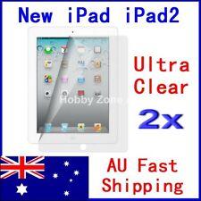 2 Pcs Screen Protector Ultra clear Thin Film Guard Cover New iPad iPad3 iPad 2