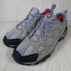 Merrell Yokota Sport Wild Dove Purple Grey Hiking Shoes Athletic Womens Size 7