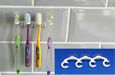 Toothbrush holder rack stand bathroom bath suction cup electric no drilling