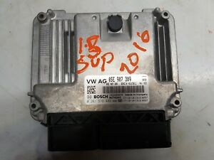 GENUINE 2018 SKODA SUPERB 1.5 TSI DSG ENGINE CONTROL UNIT ECU 05E907309