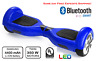 2 Wheel Electric Motorized Scooter Blue hoover board UL approved LED bluetooth