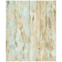Chocolate Brown Planks With Wood Grain Sure Strip Wallpaper FK3931