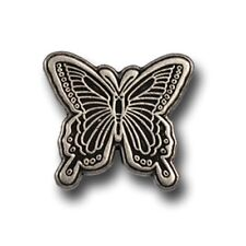 """5190-RC 3/4""""   Antique Nickel Butterfly Rivet Back Conchos"""