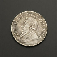1892 South Africa 5 Shillings Commemorative Coin Collection Souvenirs Retro Coin