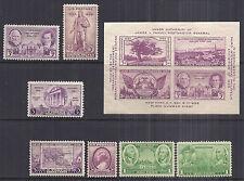 US 1936 Commemorative Year Set w/ 778 Souvenir Sheet & Army 785 & 790 - MNH*