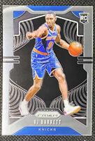 RJ BARRETT 2019-20 Panini PRIZM Basketball Rookie Base Card No. 250 Knicks RC