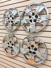 """NEW 2016-2017 Chevrolet CRUZE 15"""" CHROME Hubcaps Wheelcover Bolt-On SET OF 4"""