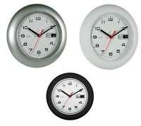 Acctim Date Minder Wall Clock 25cm Coal 12 MONTHS WARRANTY