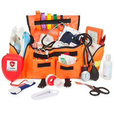 Eco Medix Emergency Trauma Kit Fully Stocked With Medical Supplies