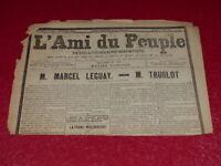 [PRESSE XIXe] MAXIME LISBONNE  L'AMI DU PEUPLE # 35-2e S. MARDI 12 MAI 1885 Rare