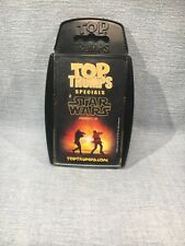 Top Trumps Specials Star Wars Episode I-III Trading Card Game - Used