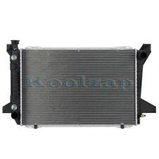 For 85-97 F-Series Pickup Truck & Bronco V8 1-Row (w/o Sensor) Radiator Assembly