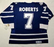 GARY ROBERTS size LARGE Toronto Maple Leafs CCM 550 - 2000 - 2004 Hockey Jersey