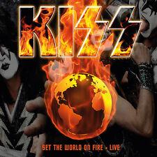 Kiss Set the World on Fire Live 10 CD Box Set inc New York, San Paulo etc