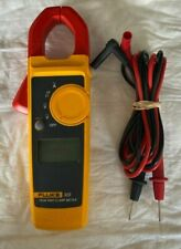 Fluke 323 True-RMS Multimeter Digital Clamp Meter W/ Leads