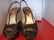Stiletto Satin Peep Toe Heels for Women