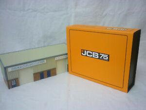 Oxford Diecast/Modern 1:76th/Construction JCB 3 Piece Anniversary Set 76SET76