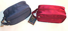 Quality Mens Large Travel Toiletries Cosmetic Shaving Wash Bag Case Red Blue New