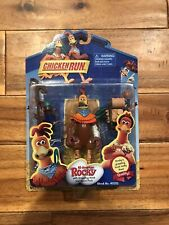 Chicken Run All-American Rocky w/Grappling Hook Action Figure Playmates 40212