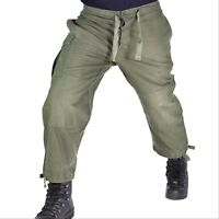 Genuine Belgian army combat pants M88 O.D Green military trousers lightweight