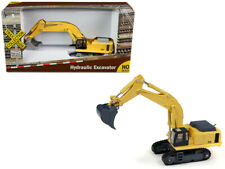 """Hydraulic Excavator Yellow """"TraxSide Collection"""" 1/87 (HO) Scale Diecast Model b"""