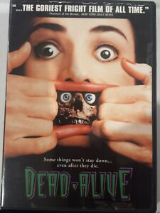 DEAD ALIVE BRAINDEAD RARE DVD PETER JACKSON CULT HORROR GORE FILM LORD OF RINGS
