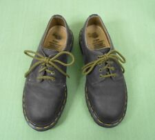 Vintage Doc Dr Martens Made In England 1461 Brown Leather Shoes Us 7