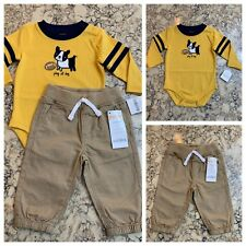 Gymboree Boy's Two Piece Set, Pants and Shirt, Size 3-6 mos., NWT ($44)