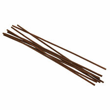 8 Pcs Brown Wood Reed Diffuser Sticks Home Fragrance Oil Refill Replacement Set