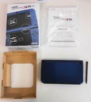 Z4300 new Nintendo 3DS LL XL console Metallic Blue Japan w/box