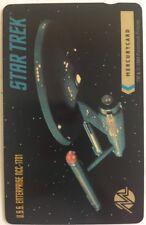 1994 STAR TREK MERCURYCARD PHONE CARD - Enterprise - UK ISSUE