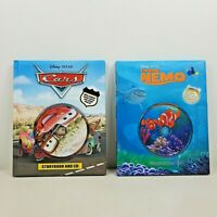 Disney Pixar Storybook And CD Finding Nemo and Cars Lot of 2 Books Hardcover