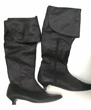 ITALIAN 100% LEATHER OVER KNEE BOOTS BY GIANNI GREGORI