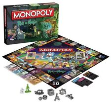 Rick & Morty Collector's Edition MONOPOLY NUOVO 6 X METALLO Tokens HASBRO