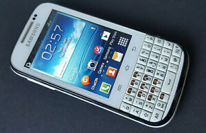 Samsung Galaxy Ch@t GT-B5330 White - Used Faulty Working Locked Network Qwerty