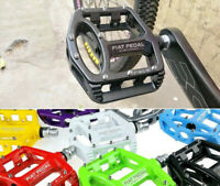 SMS Magnesium Pedal MTB Mountain Road Bike Bicycle Bearings flat Platform Pedals