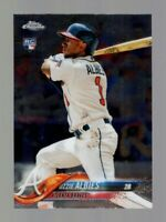 2018 TOPPS CHROME UPDATE OZZIE ALBIES RC HMT27 BRAVES