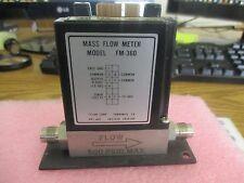 Tylan Model: FM-360 Mass Flow Meter. 300 SCCM, N2 Gas  <